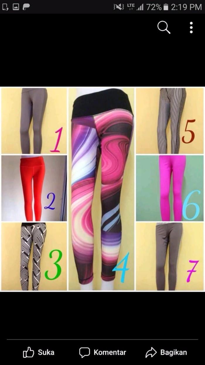 List Harga Baju Senam Aerobik Yoga Zumba Celana Legging Terbaru Aerobic Gambar