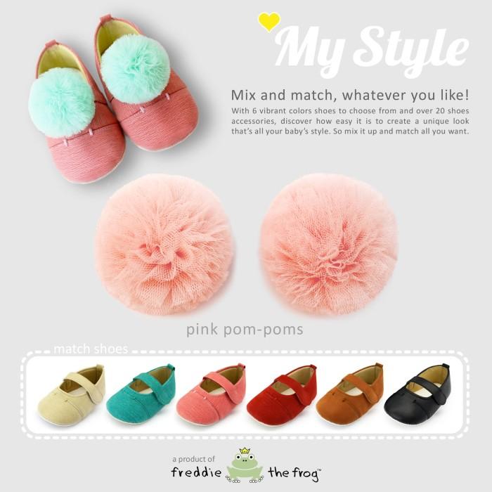 harga Prewalker - sepatu bayi | freddie the frog | my style pom-poms series