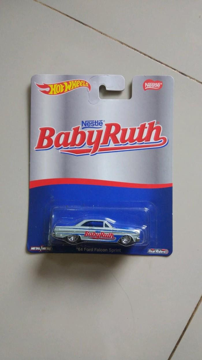 Hot Wheels 64 Ford Falcon Sprint Nestle Baby Ruth Berkualitas