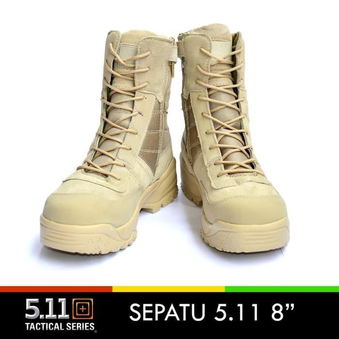 ... harga Sepatu 511 boots kulit 8 inch cokelat  sepatu pdl 5.11 tactical  import Tokopedia. 868f66cc07