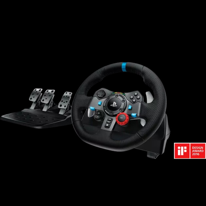 9b8f2f61887 Jual Logitech G29 Driving Force Gaming Racing Wheel + Shifter - Lezz ...