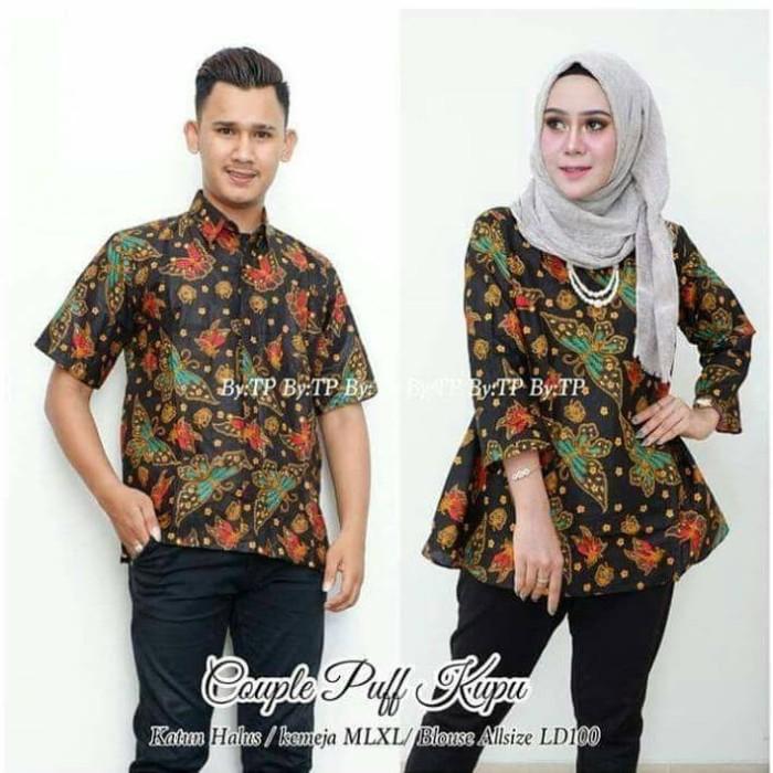 82 Contoh Baju Batik Atasan Couple Paling Hist