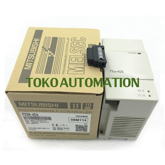 New in box MITSUBISHI PLC FX2N-4AD FX2N4AD