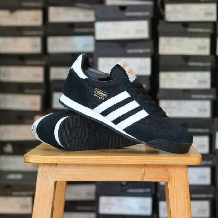 adidas dragon black white - ,