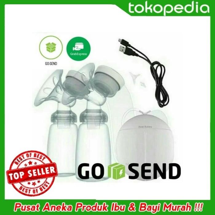 Termurah READY STOK Pompa Asi Double Breast Pump Elektrik REAL BUBEE