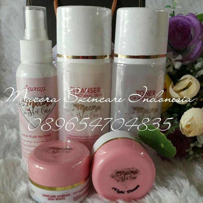 Macora Skincare Normal Glowing + Spray (Paket lengkap)