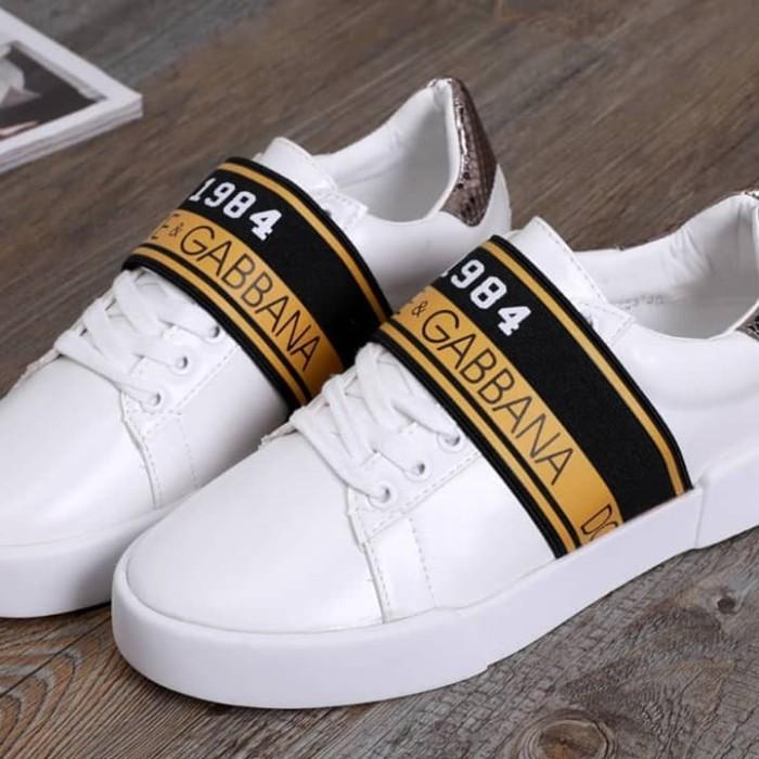 53d927c1dd1b7 Jual D&G x Gucci Sneaker Shoes - Kota Batam - Halo Clau Shop   Tokopedia
