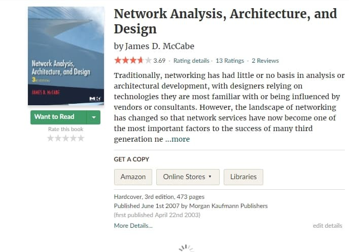 Network Analysis Architecture And Design Third Edition Pdf