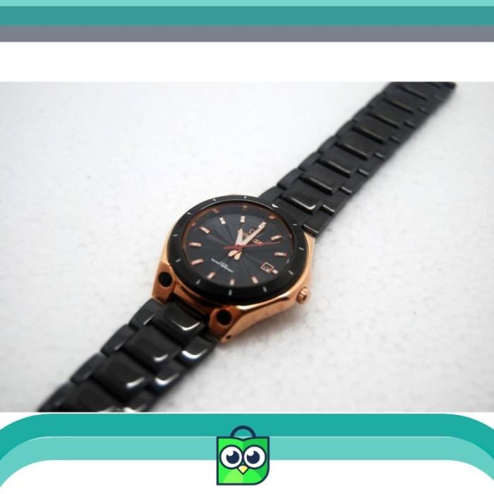Jual Mirage Original Jam Tangan Wanita 7569L Black Rosegold pH ... 60bb55c3f9