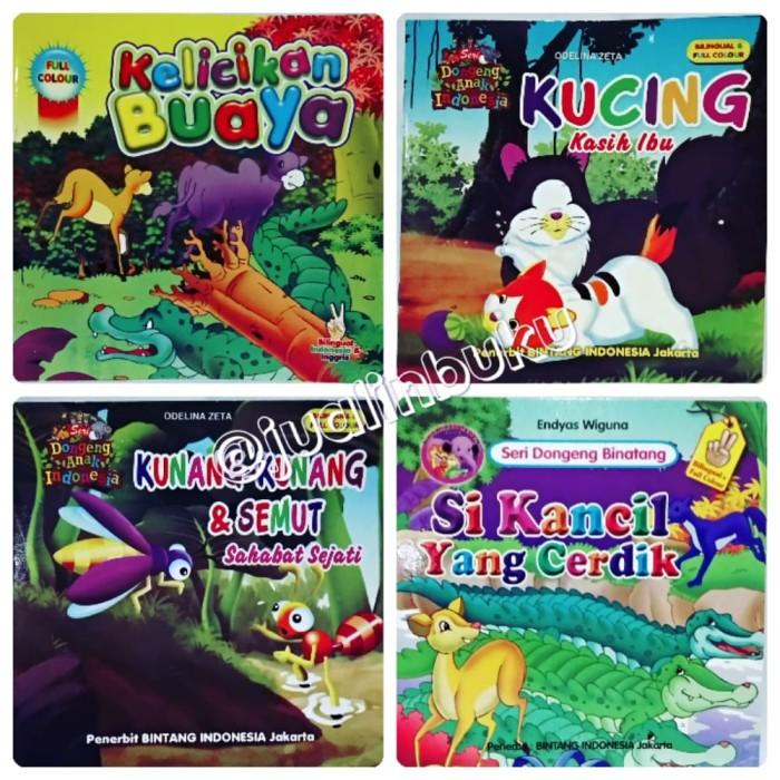 Buku Cerita Anak Seri Dongeng Anak Indonesia - Bilingual