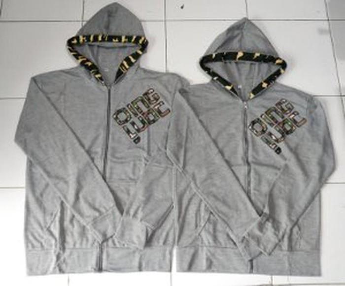 Jacket Qing Army Abu - sweater couple - jaket couple - Diskon