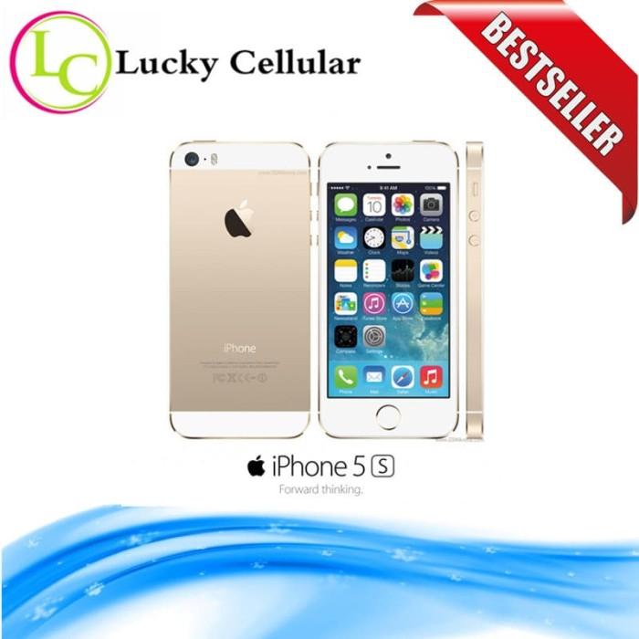... harga Apple iphone 5s 32gb gold - 4g lte - garansi 1 tahun Tokopedia.com 827e68a23a