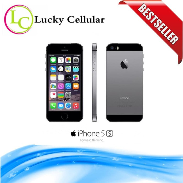 harga Apple iphone 5s 16gb space gray - 4g lte - garansi 1 tahun Tokopedia.com