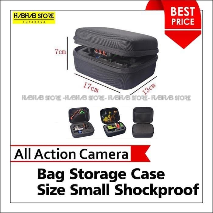 harga Bag tas case storage size small for action camera gopro xiaomi yi dl Tokopedia.com