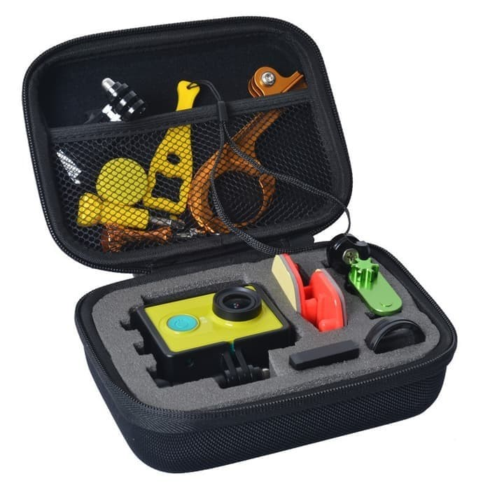 harga Shockproof storage case medium kogan xiaomi yi gopro 5 sjcam sportca Tokopedia.com