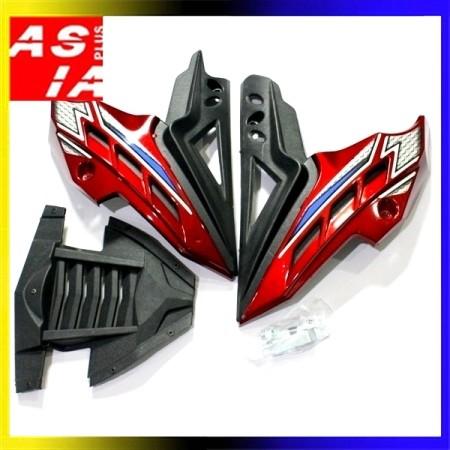 harga Variasi tutup mesin w3 variasi sepeda motor yamaha vixion racing merah Tokopedia.com