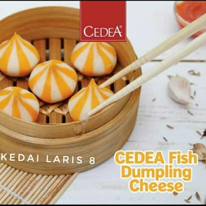 Dumpling keju cedea / dumpling cheese 500gr / Frozen food