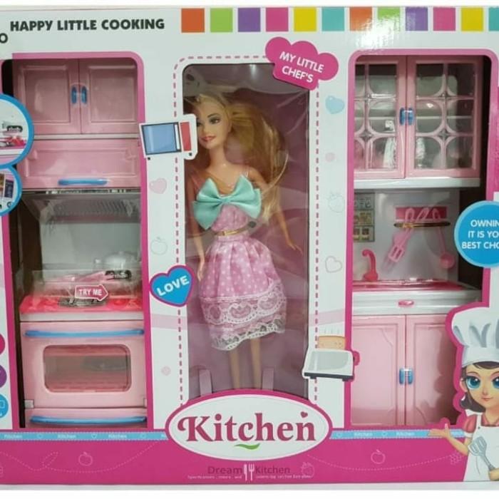Jual Mainan Anak Kitchen Set Barbie Jakarta Utara Mainan Fanny Toys99 Tokopedia