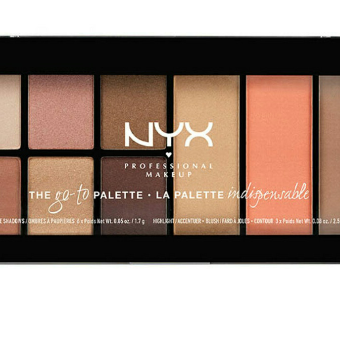 NYX Professional Makeup Go-To-Palette - Wanderlust