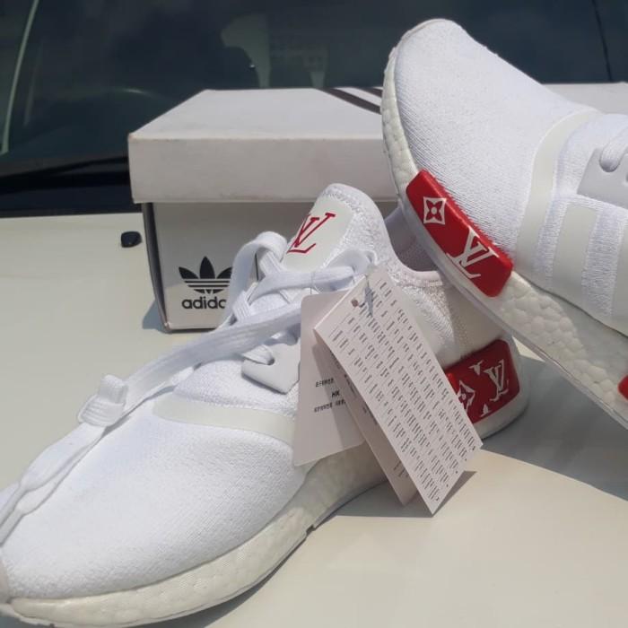Jual Adidas louis vuitton x supermem x NMD R1 Primeknit - Sepatu ... 9108a857e5