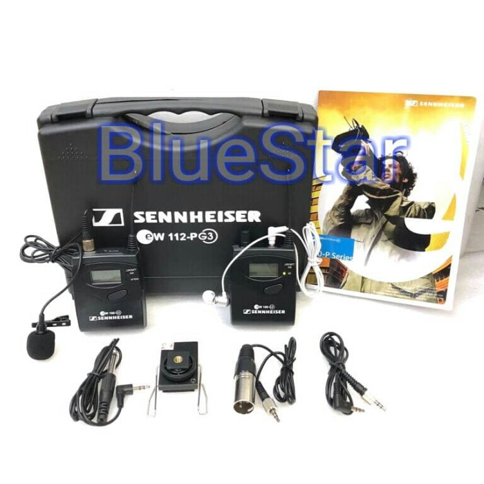 harga Mic sennheiser ew 112 p g3 camera mount wireless system with mi Tokopedia.com