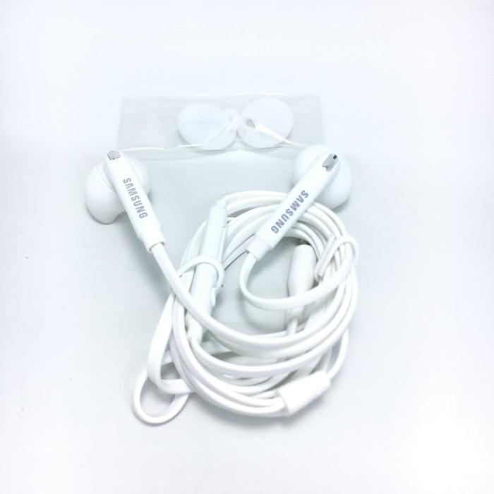 harga Earpods handsfree headset earphone samsung s7 s6 edge note 5 4 - putih Tokopedia.com