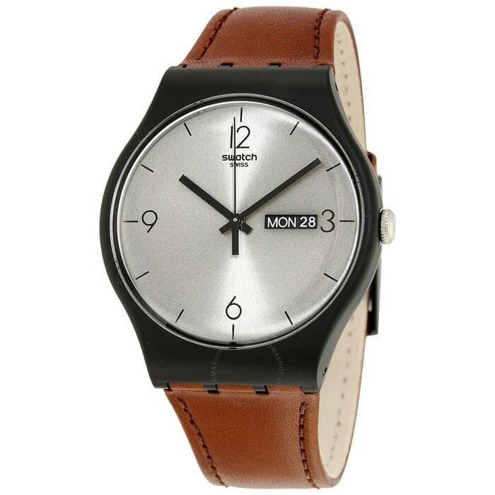 harga Swatch analog jam tangan kulit unisex suob721 lonely desert original Tokopedia.com