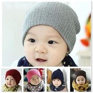 Jual Topi Kupluk Beanie Bayi Anak Cowok Cewek Usia 6 bulan - 6 tahun ... c57fb6bee3