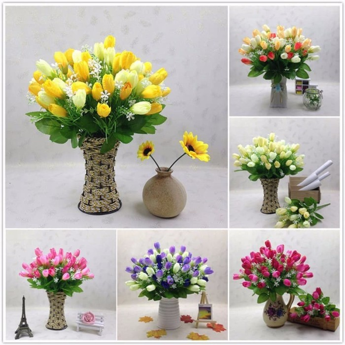 Info 1 Buket Bunga Tulip DaftarHarga.Pw