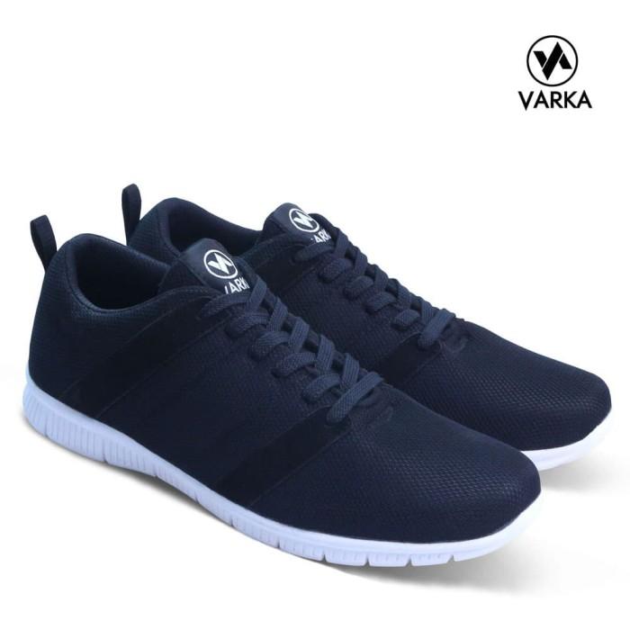 Sepatu Sneakers Pria Varka V 080 Sepatu Kets Kasual Pria Sepatu Santai - Blanja.com