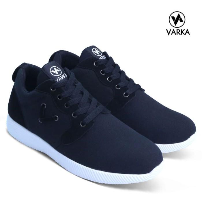 78a17de8 Jual Sepatu Sneakers Pria Varka V 076 Sepatu Kets Kasual Pria Sepatu Santai  - Kota Bandung - Distro Bandung.Inc | Tokopedia