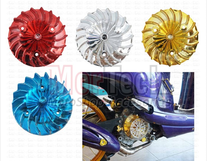 harga Aksesoris kipas pendingin motor variasi beat scoopy vario fi esp 110 Tokopedia.com