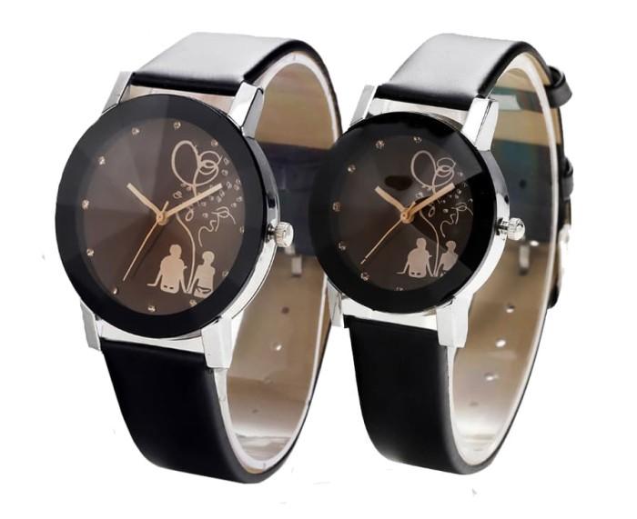 harga Romantic jam tangan couple korean style fashion watch cowo cewe kulit Tokopedia.com
