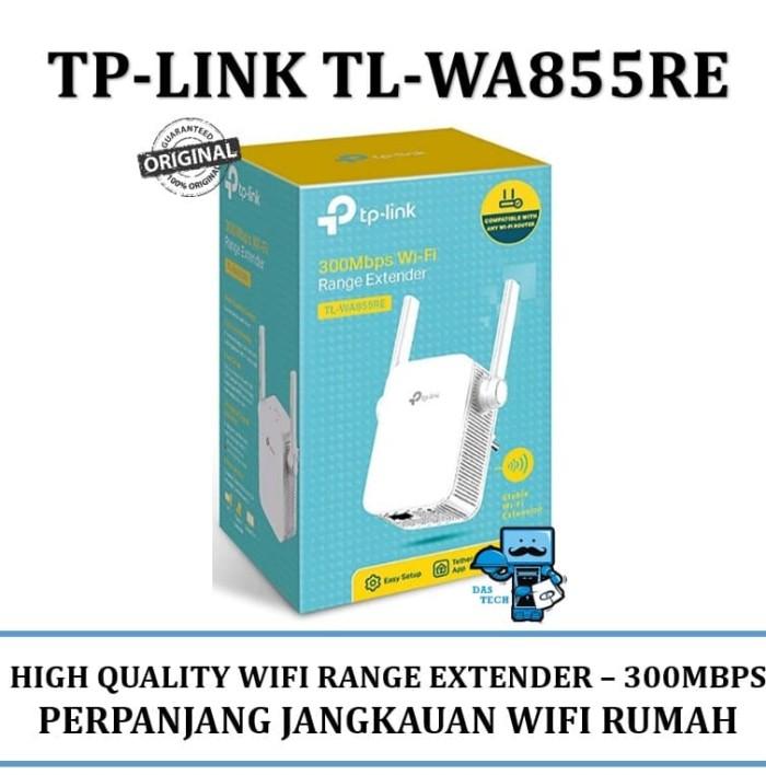 harga Tp-link tl-wa855re 300mbps wi-fi range extender - white Tokopedia.com