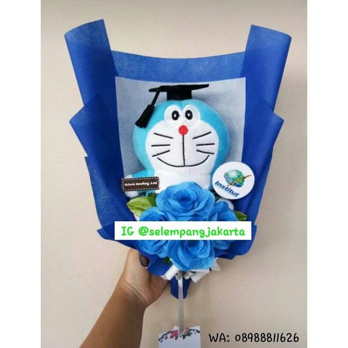 Jual Buket Bunga Doraemon Custom Buket Bunga Buket Bunga Wisuda Doraemon Jakarta Barat Aibashoping Tokopedia