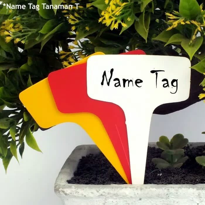 harga Label tanaman t name tag id plant hidroponik plastik isi 10 pcs - lt04 Tokopedia.com