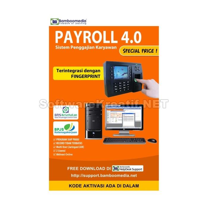 Program Payroll 4.0 - Software Sistem Penggajian Karyawan - Blanja.com