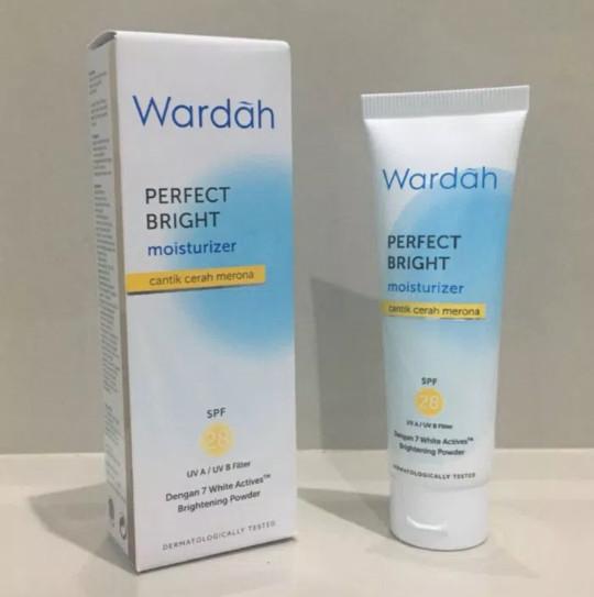 Apakah Wardah Perfect Bright Lightening Moisturizer Cocok ...