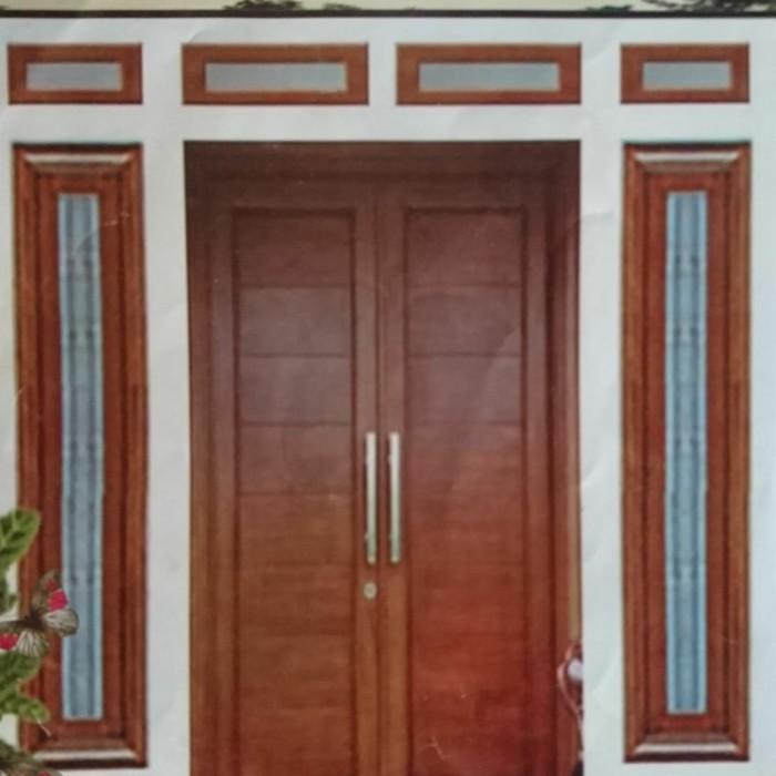 Jual Set Kusen Pintu Dan Jendela Utama Minimalis Kab Bekasi Pani Jaya Cyber Shop Tokopedia