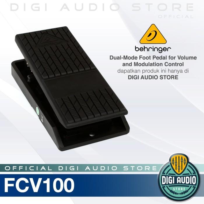 harga Behringer fcv100 dual mode foot pedal volume keyboard [ fcv 100 ] Tokopedia.com