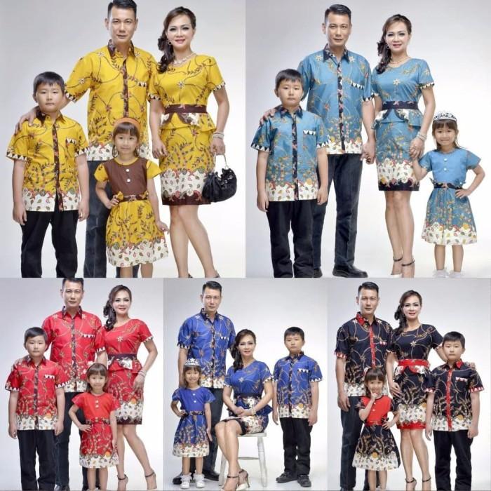 Jual Best Model Baju Batik Couple Keluarga Kemeja Dan Dress Batik Modern E Kota Surabaya Takashimurah Store Tokopedia