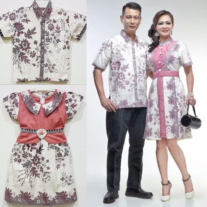 Jual Best Model Baju Batik Couple Keluarga Modern Katun Kombinasi Brokat L Kota Surabaya Takashimurah Store Tokopedia