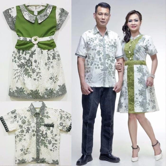Jual BEST MODEL Baju batik couple keluarga modern katun kombinasi ... 3389b2608a