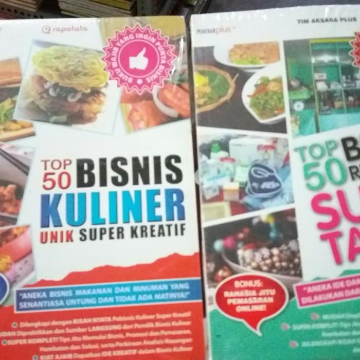 Jual Bisnis Kuliner Dan Bisnis Rumahan 2 Buku Kab Sidoarjo Buku Murah Arifin Tokopedia