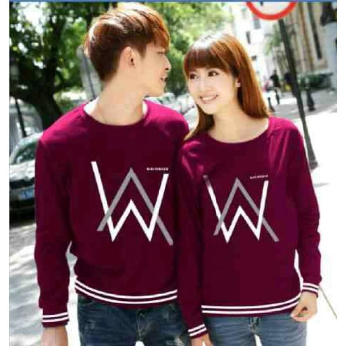 harga Sweater couple xl alan walker rajut babyterry Tokopedia.com