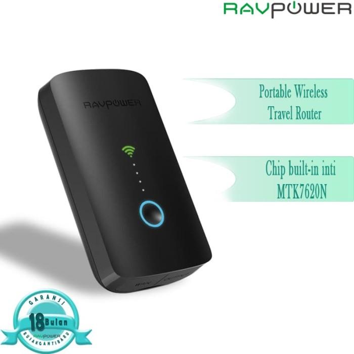 harga Ravpower wireless travel router filehub 6000mah [rp-wd03] Tokopedia.com