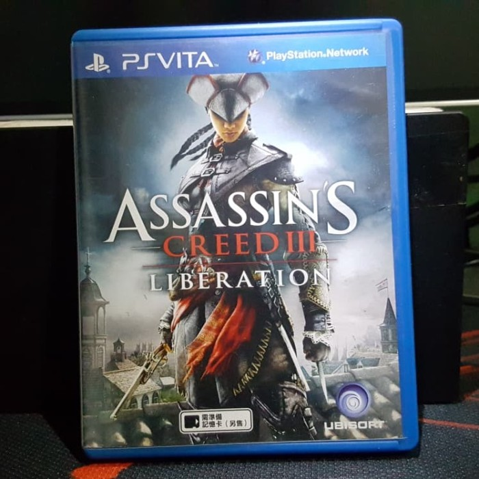 Jual Assassin S Creed 3 Liberation R3 Ps Vita Kota Medan