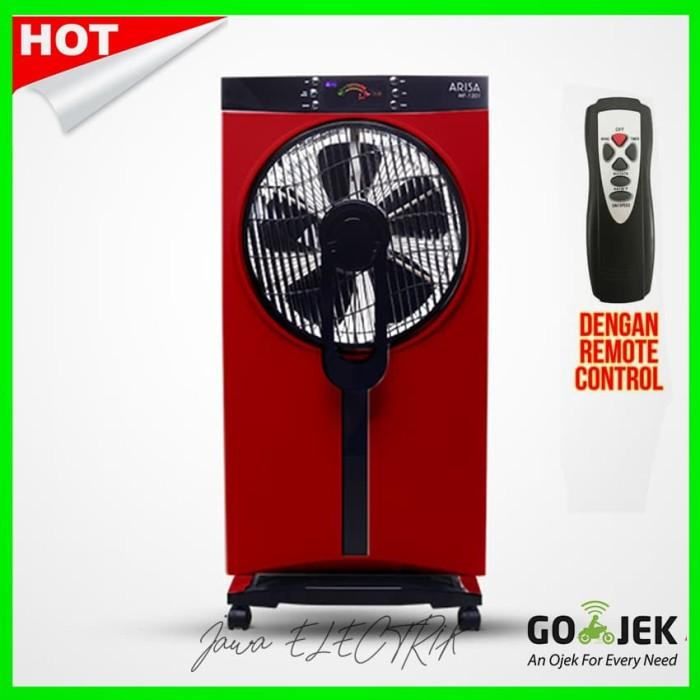 harga Arisa kipas angin mist fan generator mf-1201-merah Tokopedia.com