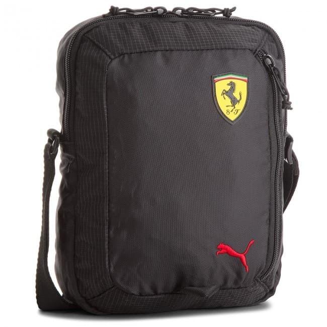Jual Tas Puma Ferrari SF Fanwear Portable Bag Black Original - INCR ... 4f9d2ce8e8