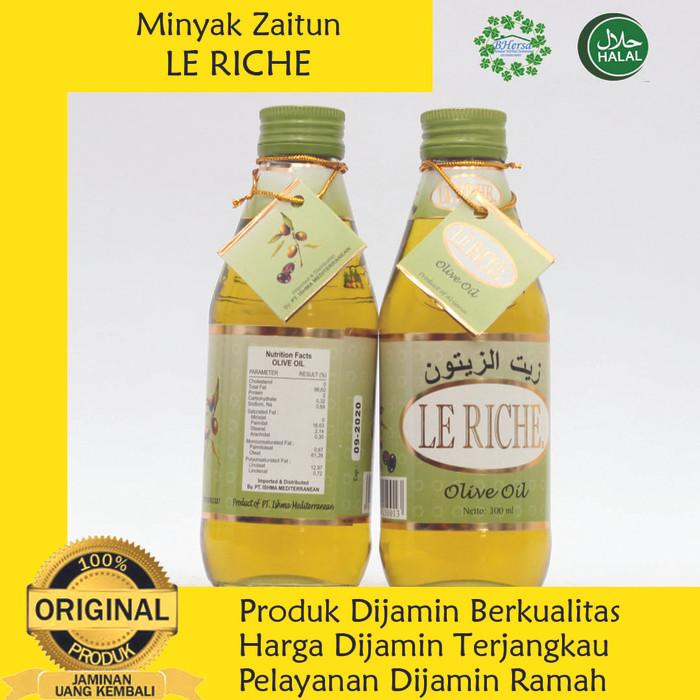 Foto Produk Minyak Zaitun Le Riche Olive Oil - 300 ml dari Bandar Herbal Semarang